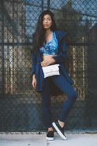 Athleta coat - Hipsters for sisters bag - Athleta pants - Athleta top