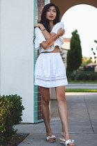 For Love and Lemons top - dRa skirt
