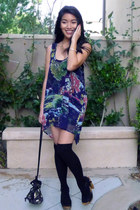 artsy Lily White dress - sequin bucket Urban Outfitters bag
