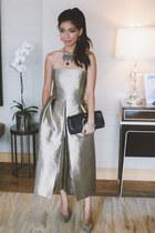 Tibi dress - Jimmy Choo heels - Chloe and Isabel necklace