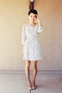 Ivory-dotted-vintage-forever-21-dress-neutral-mossimo-pumps