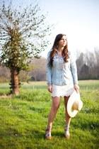 cream sun hat Forever 21 hat - white Forever 21 skirt