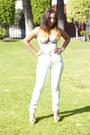 Periwinkle-polka-dot-vedette-shapewear-bodysuit