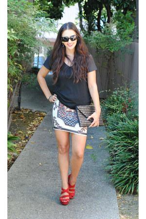 hey stud Libi & Lola bag - chicnova skirt