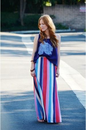 maxi Splendid skirt - crop Snoozer Loser top