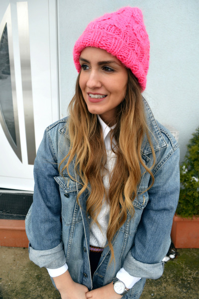 H&M hat - SOliver jacket - Michael Kors watch