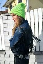 H&M pants - asos hoodie - pull&bear panties - H&M heels