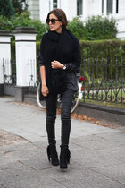 black Zara scarf
