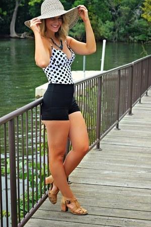 white Vedette swimwear