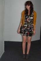 forever 21 - sue wong dress - purse - aerosoles shoes - belt