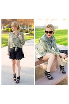 black ankle boots LAMB boots - black eyelet Betsey Johnson shorts