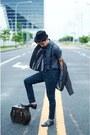 Milanos-shoes-topman-coat-wooden-bag-bag-celio-pants