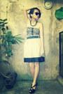 Topshop-dress-bla-charles-keith-heels-promod-skirt