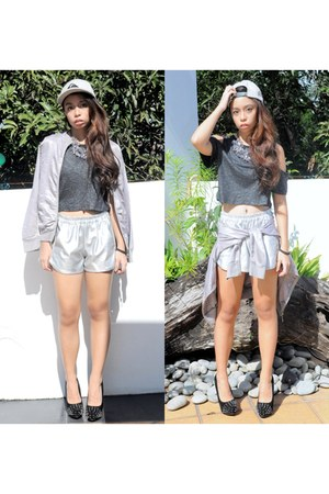 gray Fashion Infinity top