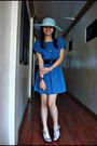 Blue-mango-dress-silver-payless-shoe-source-shoes