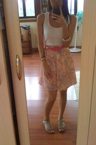 DKNY top - belt - From HK skirt - Steve Madden shoes - From HK accessories