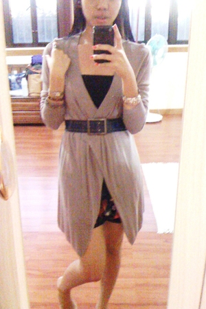 Topshop top - cotton on blazer - belt - From HK shoes