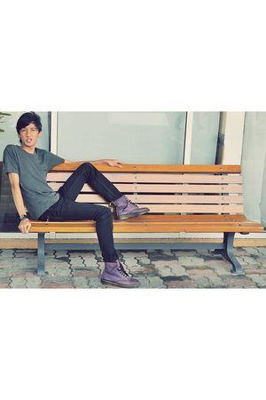 Byford London shirt - scarlets jeans - Dr Martens boots