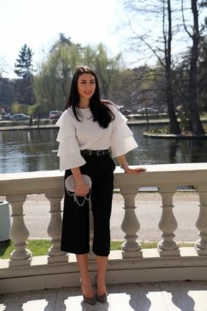 Sheinside blouse - Zara pants