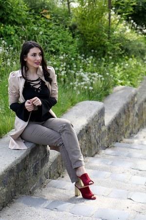 BonPrix shoes - Bershka coat