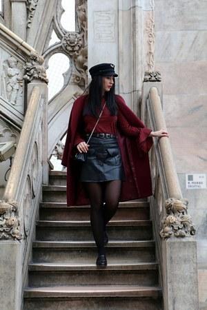 Topshop shoes - Tommy Hilfiger hat - Zara skirt