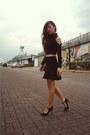 Marks-spencer-shoes-zara-skirt-forever-21-crop-top