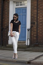 Zara bag - Zara pants - Zara heels - Zara top