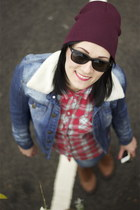 Topshop shirt - Topshop boots - Zara jeans - Pull & Bear jacket