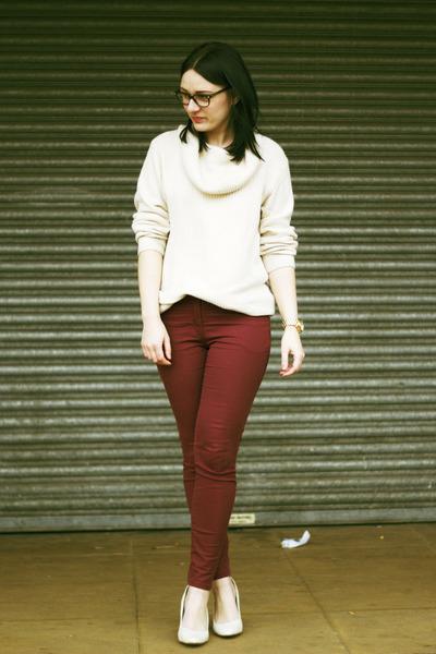 H&M jeans - H&M shorts - H&M jumper
