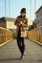 H&M coat - Zara boots