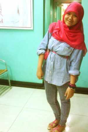 blue vintage shirt - jeans
