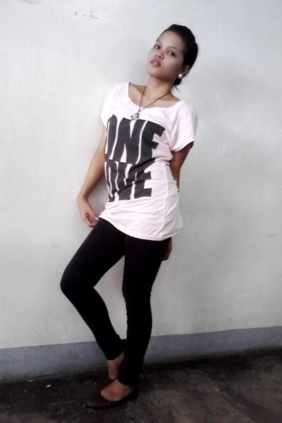 Black Pants Peach Shirts Brown Shoes One Love Shirt By Icel