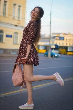 crimson idaLaida dress