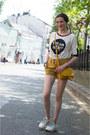 White-reserved-sweater-mustard-mango-bag-yellow-idalaida-shorts