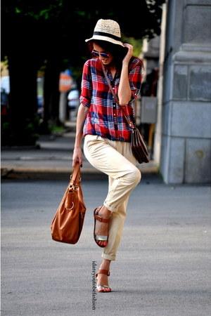 light pink H&M Trend sunglasses