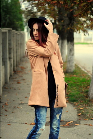 brown Sheinside coat