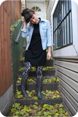 kensiegirl dress - Charlotte Russe shirt - kensiegirl leggings