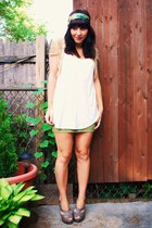 kensiegirl skirt - forever 21 t-shirt - seychelles shoes - tracy reese jacket