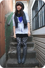 Black-kensiegirl-leggings-gray-f21-shirt