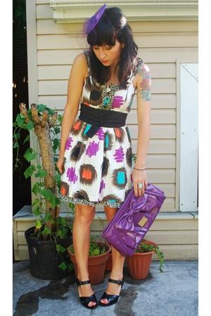 kensie dress - MCQ target belt