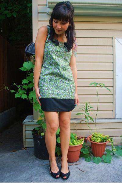 kensiegirl dress - Arturo Chiang shoes - coach purse