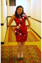 Beacons closet dress - Rickys NYC tights - Zara shoes