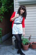 Zara sweater - thrfted shorts