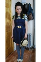 Thakoon for Target t-shirt - Forever21 dress - vintage belt - gift from Japan ea