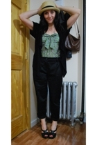 H&M pants - kensiegirl top - kensie sweater