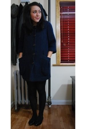 kensiegirl coat - Target tights - le chateau