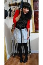Target t-shirt - kensiegirl skirt - Zara sweater