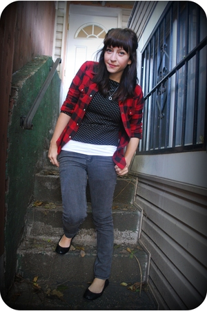Target shirt - Cheap Monday jeans - UO sweater