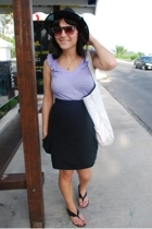 Target skirt - kensie top - Dolce Vita shoes - f21