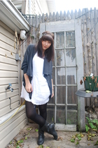 Blowfish boots - kensie sweater - Mac & Jac dress